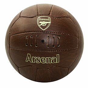 Arsenal Faux Leather Football (Size 5)