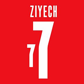 Ziyech 7 (Official Printing) - 20-21 Morocco Home