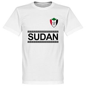 Sudan Team Tee - White