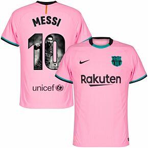20-21 Barcelona Vapor Match 3rd Shirt + Messi 10 (Gallery)