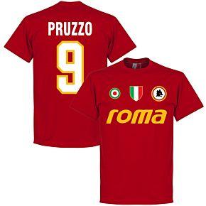 Roma Vintage Pruzzo 9 Team Tee - Tango Red