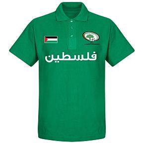 Palestine Team Polo Shirt - Green