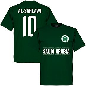 Saudi Arabia Al-Sahlawi 10 Team Tee - Green