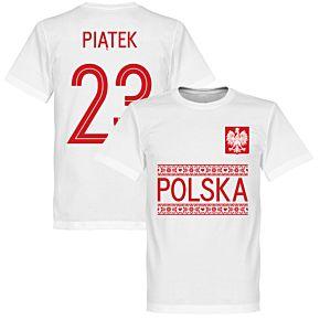 Poland Piatek 23 Team Tee - White