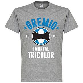 Gremio Established Tee - Grey