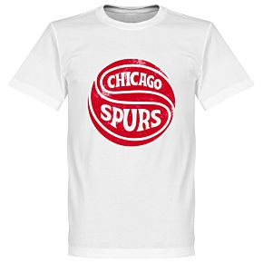 Chicago Spurs Tee - White