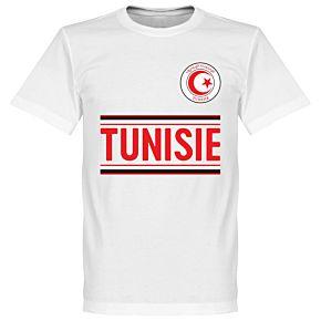 Tunisia Team Tee - White