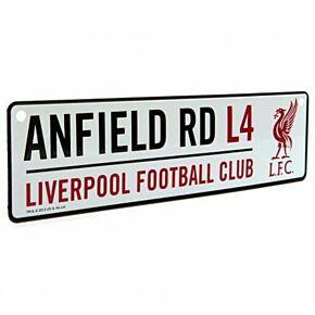 Liverpool Window Street Sign (26 x 7cm Approx)