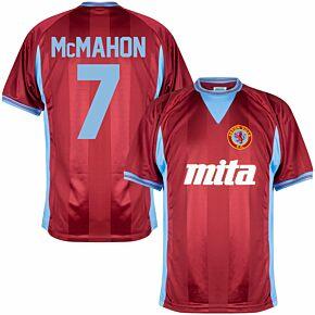 1984 Aston Villa Home Retro Shirt + McMahon 7 (Retro Flex Printing)