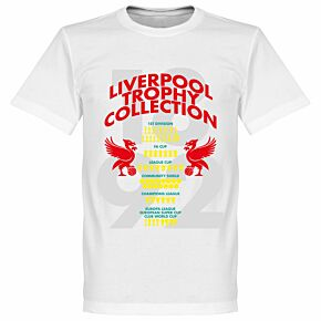 Liverpool Trophy Collection KIDS Tee - White