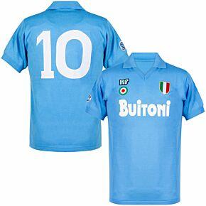87-88 Napoli Ennerre Authentic Remake Shirt - Buitoni Sponsor
