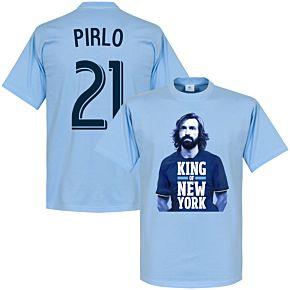 Pirlo 21 King of New York Tee - Sky