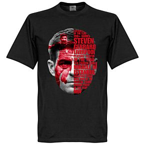 Gerrard Tribute Tee - Black