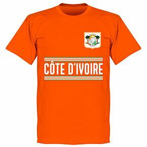 Ivory Coast Team T-Shirt - Orange