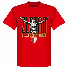 Zlatan Welcome Back T-Shirt - Red