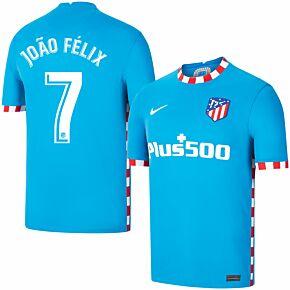 21-22 Atletico Madrid 3rd Shirt + João Félix 7 (Official Printing)