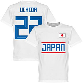 Japan Uchida 22 Team Tee - White