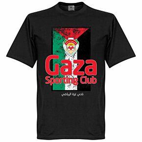Sporting Club Gaza Flag Tee - Black