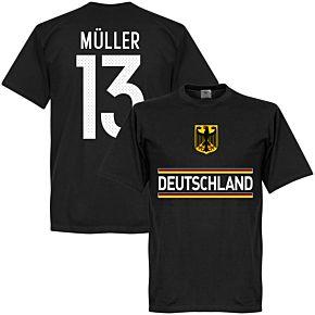 Germany Müller 13 Team Tee - Black