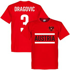 Austria Dragovic Team Tee - Red