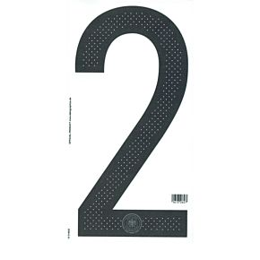16-17 Germany Home Official Back Numbers 260mm