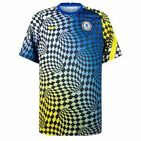 21-22 Chelsea Pre-Match Top - Blue