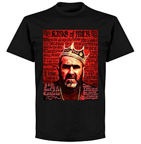 Cantona Old Skool T-shirt - Black