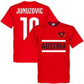 Austria Junuzovic Team Tee - Red