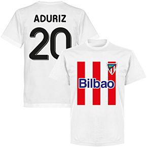 Bilbao Aduriz 20 Team T-shirt - White