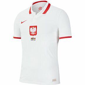 20-21 Poland Vapor Match Home Shirt + 2020 transfer