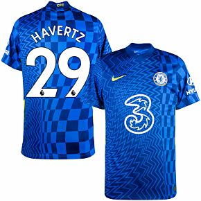 21-22 Chelsea Home Shirt + Havertz 29 (Premier League)