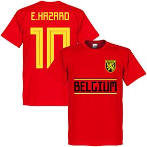 Belgium Hazard 10 KIDS Team Tee - Red