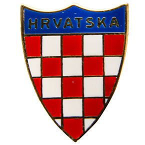 Croatia Enamel Pin Badge