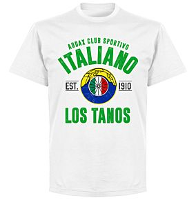 Audax Italiano EstablishedT-Shirt - White