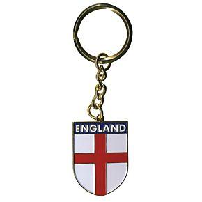 England Crest Metal Keyring