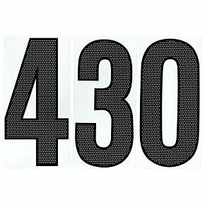 04-05 Nike Back Numbers - Black (250mm)