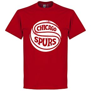 Chicago Spurs Tee - Tango Red