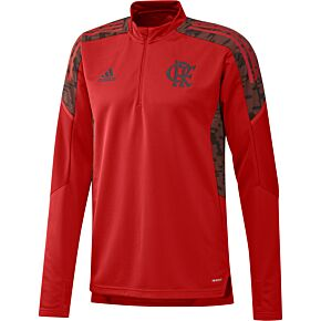 2021 Flamengo L/S Training Drill Top - Red