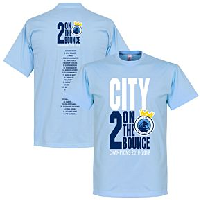 City 2 on the Bounce Champions Squad Tee - Sky