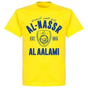 Al-Nassr Established T-Shirt - Lemon Yellow