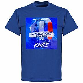 Kante 'What's His Name?' T-shirt - Royal