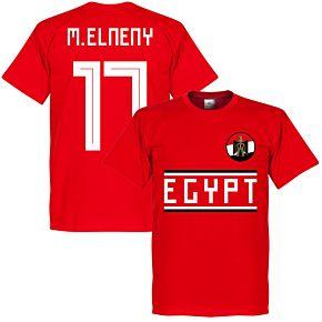 Egypt M. Elneny 17 Team Tee - Red