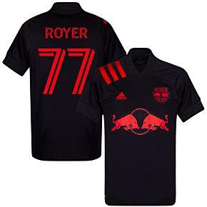 20-21 New York Red Bulls AwayShirt + Royer 77  (Fan Style)