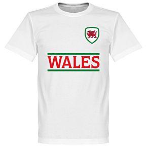 Wales Team Tee - White