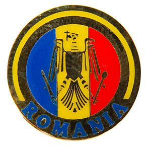 Romania Enamel Pin Badge