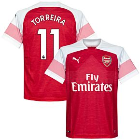 Arsenal Home Torreira 11 Jersey 2018 / 2019 (Authentic EPL Printing)