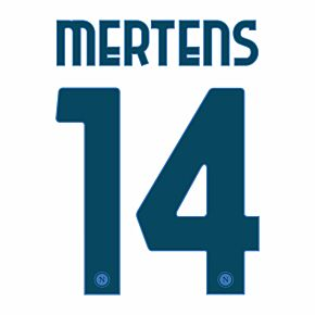 Mertens 14 (Official Printing) - 20-21 Napoli Away