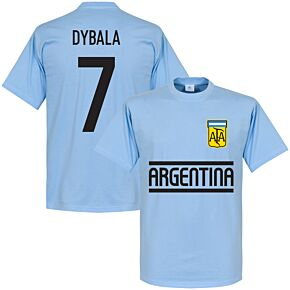 Argentina Dybala Team Tee - Sky