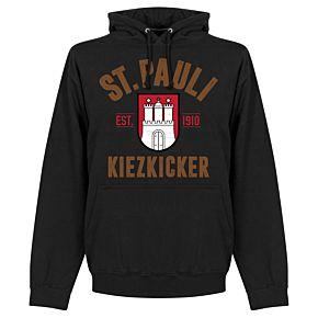 St Pauli Established Hoodie - Black