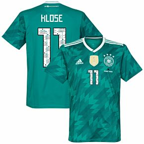 Germany Away Jersey 2018 / 2019 + Danke Miro Klose 11 Printing